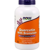 Quercetin with Bromelain (120 капс.) от NOW