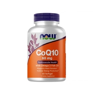 Q10 with Omega-3 60 mg (60 софтгель) от NOW